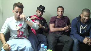 JLS talk not being topless in She Makes Me Wanna video to Sugarscape