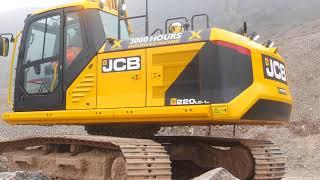 JCB's new 220X excavator