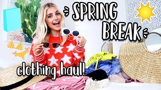 SPRING BREAK CLOTHING HAUL! Asos, Urban Outfitters & More!