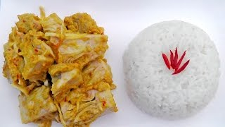 Indonesian Rendang Jackfruit Curry - Vegan Vegetarian Recipe