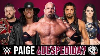 WWE NOTICIAS 28: Goldberg, Paige, Cena, Bryan, Bella, Rollins, Owens y mas!