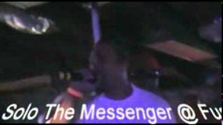 Solo The Messenger @ Fusions in Monroe 8 13 10