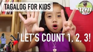 Learn How to Count in Tagalog (Filipino) | Tagalog for Kids