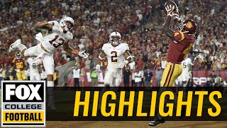 USC vs Stanford | Highlights | FOX COLLEGE FOOTBALL