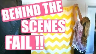 BEHIND THE SCENES FAIL !!! | 3 mars 2016