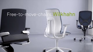 AT task chair with Trimension®  - how to use