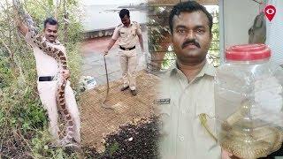 Meet the Mumbai policeman who rescues snakes   City   Mumbai live