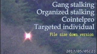 集団ストーキング被害者の記録 2017.5.5(2) 軽量版  Gang Stalkng Organized stalking Cointelpro Targeted Individuals