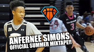 Anfernee Simons Official Summer Mixtape!!   Smoothest Scorer in the Country