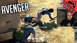 AVENGER - PlayerUnknown's Battlegrounds Squad Gameplay #26 -StoneMountain64, LevelCapGaming, Kross