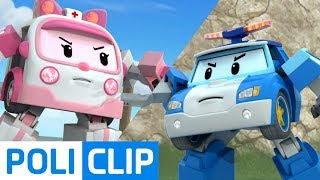 First rescue mission | Robocar Poli Rescue Clips