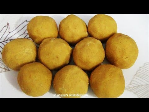 Moong Dal Ladoo Recipe-Pasi Paruppu Urundai Recipe-Diwali Sweet Recipe By Nagu's Nalabagam