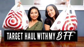 SHOP WITH ME AND MY BEST FRIEND + Target Haul! | Fashion, Beauty, Eczema, + Mom Life