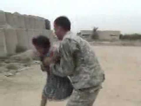 Funny Videos Soldiers Dancing with Iraqi girls