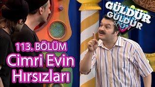 Güldür Güldür Show 113. Bölüm, Cimri Evin Hırsızları