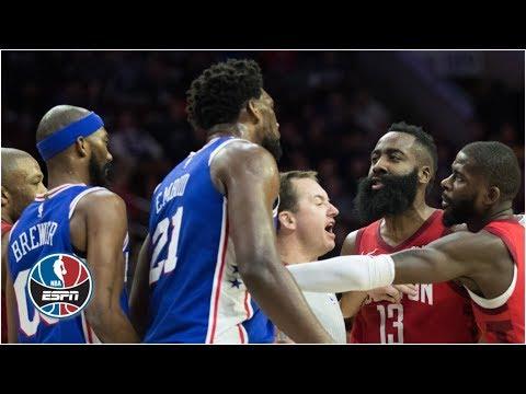 Xxx Mp4 James Harden Joel Embiid At Center Of Rockets 76ers Drama NBA Highlights 3gp Sex