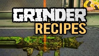 Borderlands The Pre-Sequel | Grinder Recipes