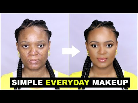Xxx Mp4 SIMPLE EVERYDAY MAKEUP TUTORIAL FOR BEGINNERS OMABELLETV 3gp Sex