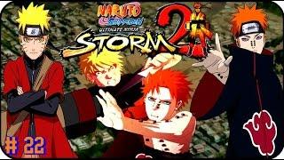 Naruto Shippuden Ultimate Ninja Storm 2 GAMEPLAY PART 22 PAIN VS NARUTO BATALLA EPICA