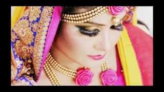 Gaye Holud Eye Make Up I Make Over BY Shefa Ahmed Shaju