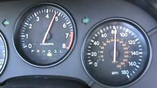 Stock Supra Turbo 0-150 MPH