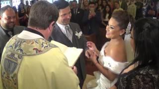 Así fué la boda de Carolina Sandoval