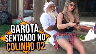 GAROTA SENTANDO NO COLINHO 02 (GIRL SITTING ON THE LAP | PRANK)