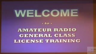 Ham Radio 2.0: Episode 66 - General License Training Class