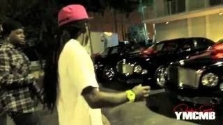 Birdman gives a Bentley Mulsanne & Rolls Royce Ghost TO Lil Wayne and Mack Maine