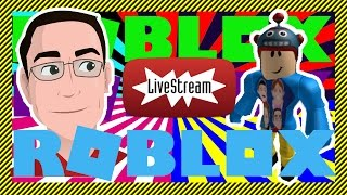 ROBLOX Live! - FREE ROBUX RAFFLES! - Game Mix Collab with Bat-O Games! - YouTube Gaming Livestream