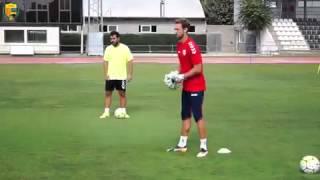 Latihan Evan Dimas di Klub Spanyol Llagostera