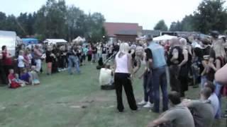 motosraz lužany 2012 - soutěž tahání na gumě