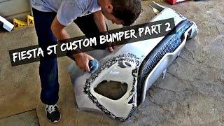 Fiesta ST Custom Rear Bumper PART 2