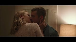 Abbie Cornish and Joel Kinnaman hot kissing scene in Robocop