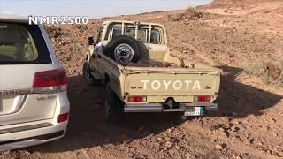 تطعيس جبال بحر صحراء شعيب  جمعنا لكم جميع التضاريس في مقطع كنق التحمل سيارات تويوتا