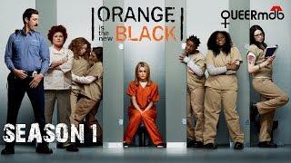 Orange is the new Black - Staffel 1 (2013) -- lesbisch, transgender | lesbian themed