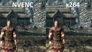 NVENC vs x264 Quality Comparison
