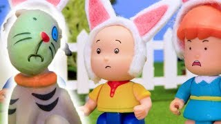 Caillou takes care of Gilbert   Funny Animated cartoons Kids   WATCH ONLINE   Caillou Stop Motion