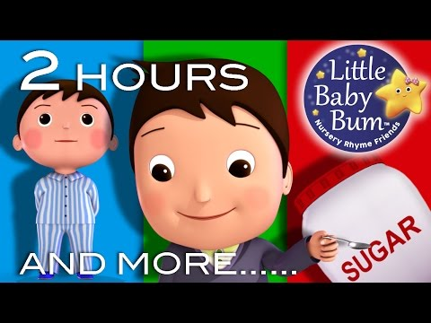 Johny Johny Yes Papa | Plus Lots More! | 2 HOURS Nursery Rhyme Compilation from LittleBabyBum!