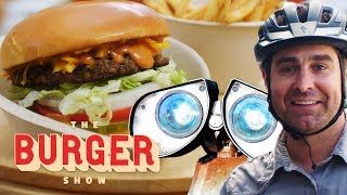 MythBusters Tory Belleci Tests the Ultimate Burger Robot | The Burger Show