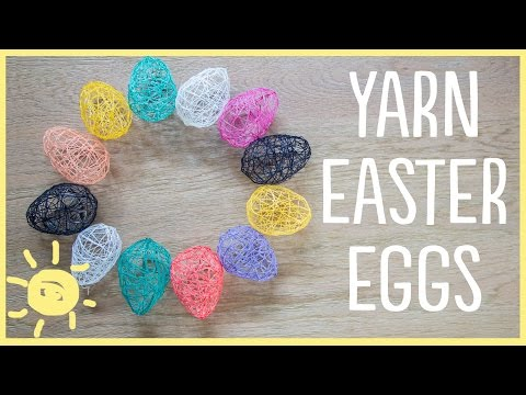 Xxx Mp4 DIY Yarn Easter Eggs Cute And Easy 3gp Sex