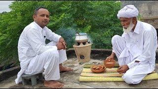 Chai Pakora | Rainy Day Snacks | Rain In Punjab Village | Chai Pakora Recipe by Mubashir Saddique