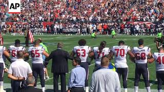 Patriots Fans Boo Protesting NFL Players
