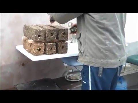 Presa Brichete Rumegus Hobby Sawdust Briquette Press