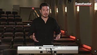 Korg Pa900 61-key Professional Arranger Keyboard Demo - Sweetwater Sound