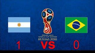 Argentina vs Brazil Friendly Match 2018 FT.Messi