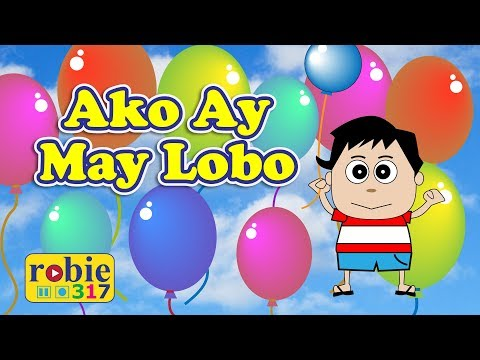 Ako ay may lobo animated Awiting Pambata