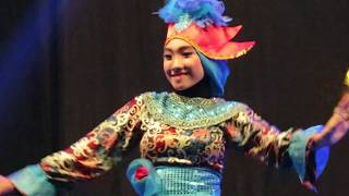 Hebohnya Tari Daling Kesenian Tari Daerah Kalimantan Timur (Festival Tari Nusantara)