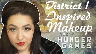 Hunger Games District 1 Inspired Makeup Tutorial (NoBlandMakeup)
