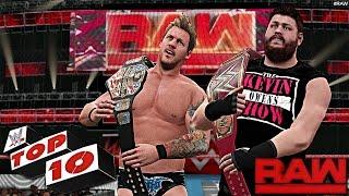 WWE 2K17 - Top 10 Raw Moments - Raw Jan.9, 2017